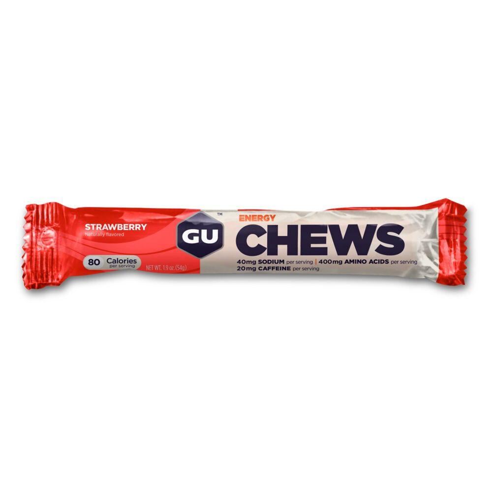 GU Energy chews strawberry