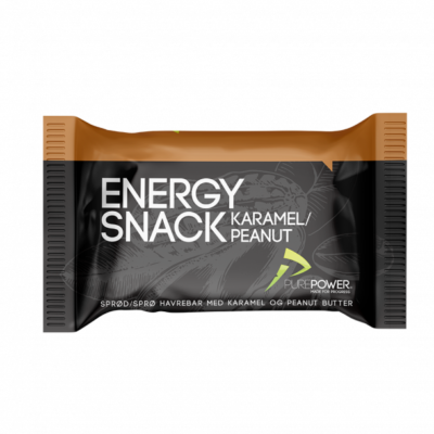PUREPOWER Energy bar Caramel & Peanut